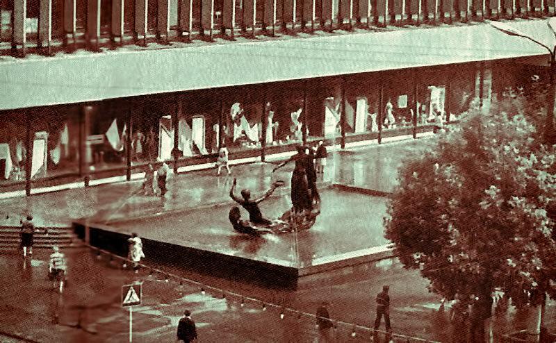 """скульптура """"Северский Донец и Везелица"""" фото из коллекции А.Лимарова"""