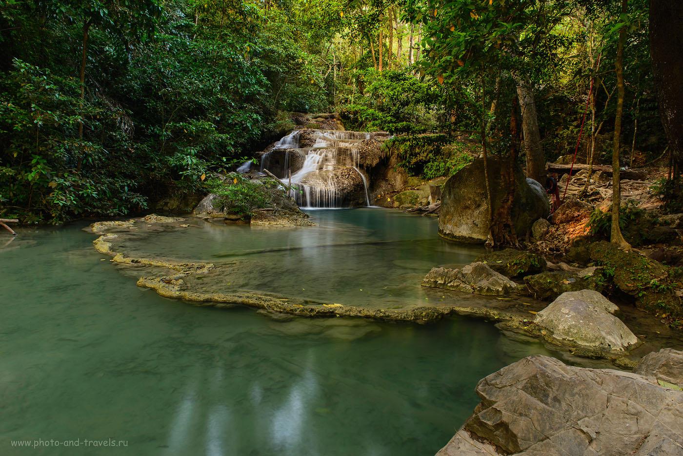 """Фотография 9. Отдых в Таиланде самостоятельно. Поездка в парк Эраван. Если """"солнечному пятну"""" повысить температуру и чуть-чуть экспозицию, оно притягивает взгляд зрителя. (50, 24, f/16.0, 5.0)"""