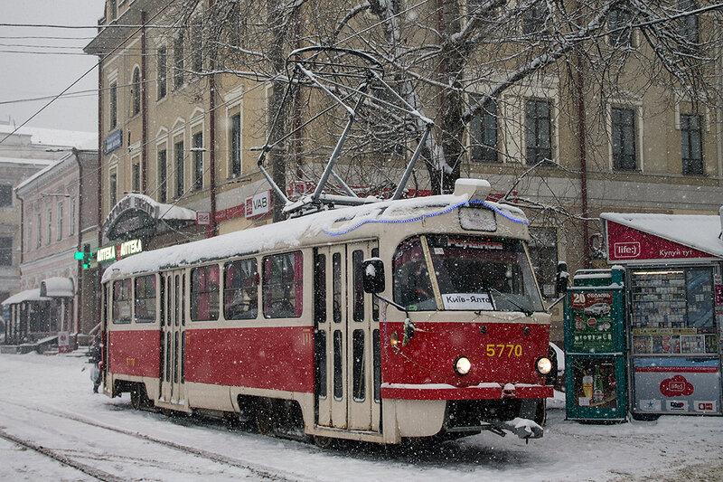 Маршрут трамвая 14 на карте Москвы