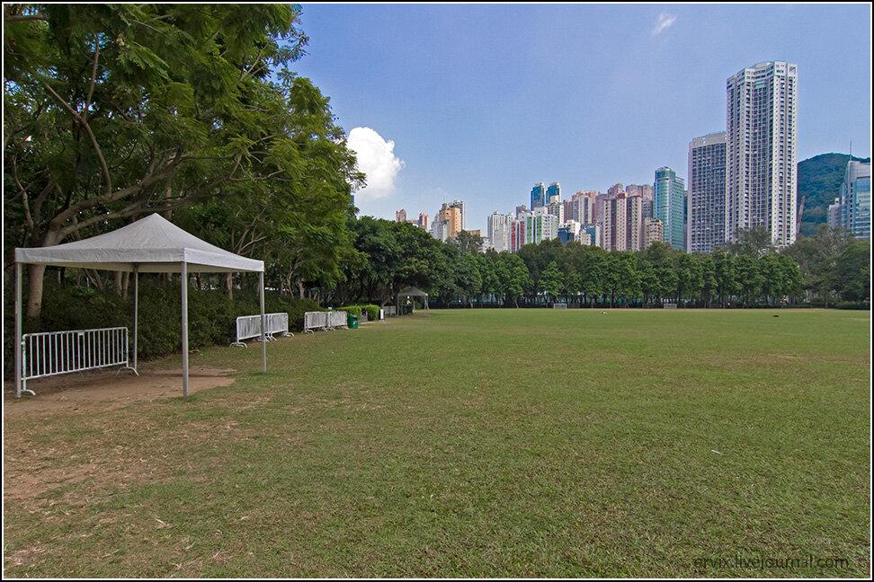 Парк Виктория в Гонконге