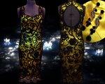 Мое платье в технике И.К. Магия черного.....