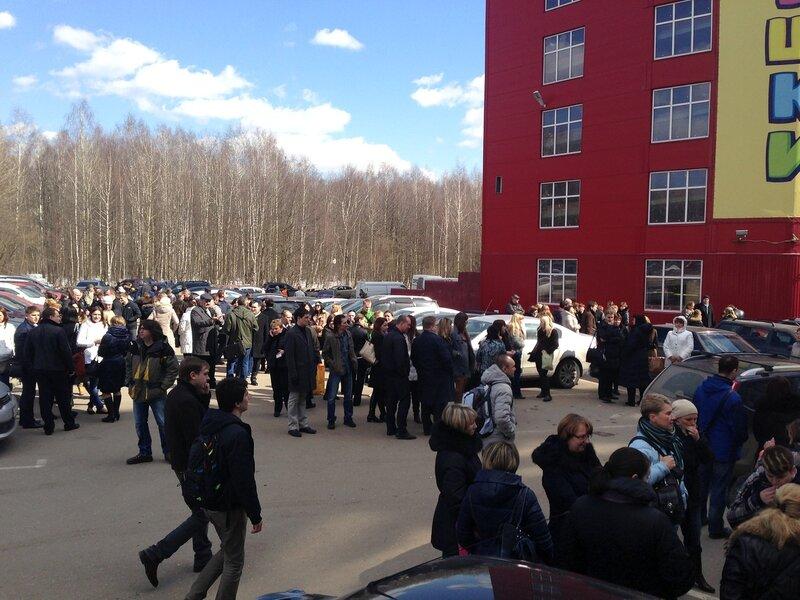 """В бизнес-парке """"Румянцево"""" объявлена эвакуация"""