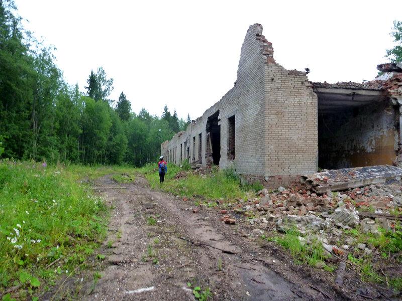 цех в бывшем ядерном арсенале Каргополь-2 в Няндоме