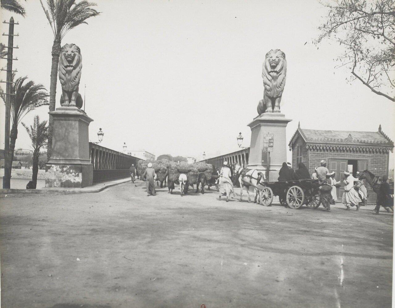 Каир мост через Нил