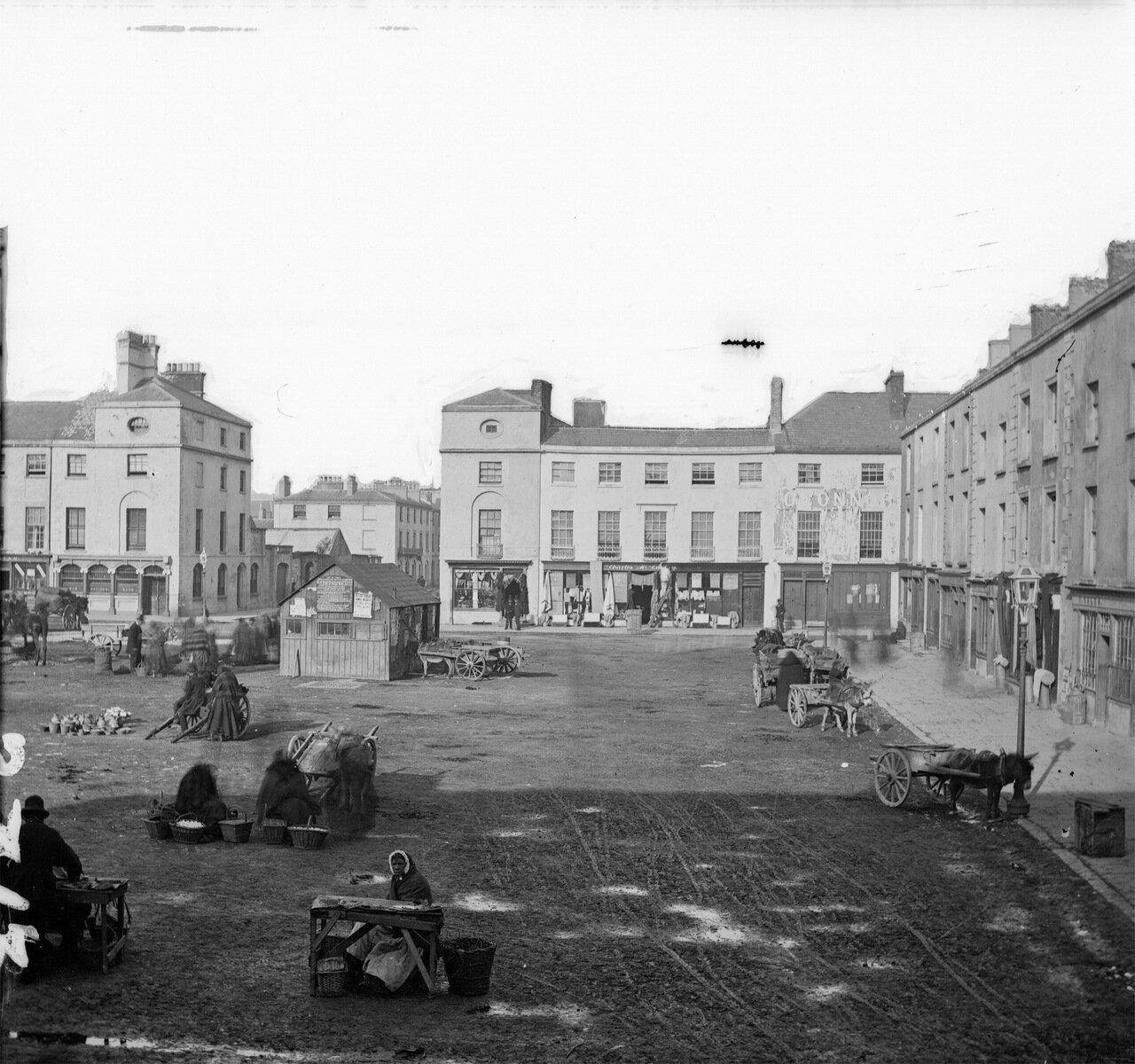 Площадь Граттана, Дангарван. 1863