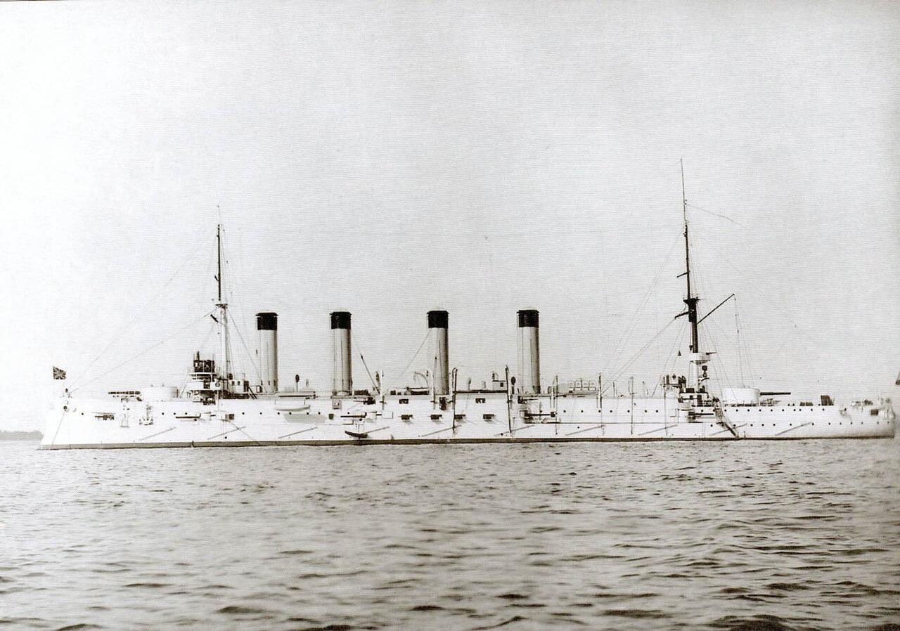 Броненосный крейсер Баян на Балтике, 1903 год
