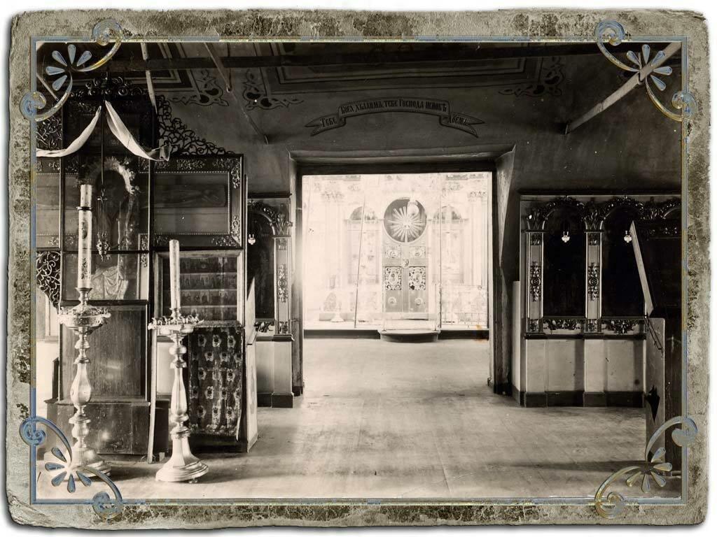 Убранство храма в Кашине