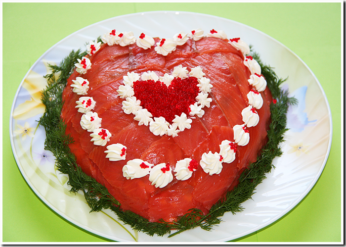 Как сделать салат слоями в форме