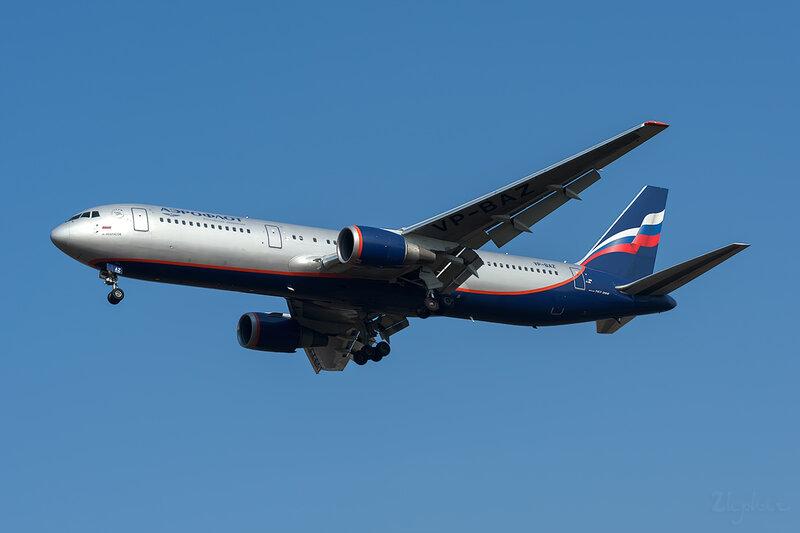 Boeing 767-36N/ER (VP-BAZ) Аэрофлот DSC6572