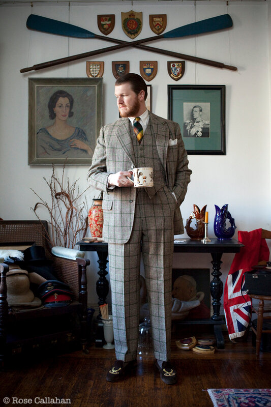 Sean Crowley photographed by Rose Callahan at his home in Brooklyn, Feb 28, 2011  MR