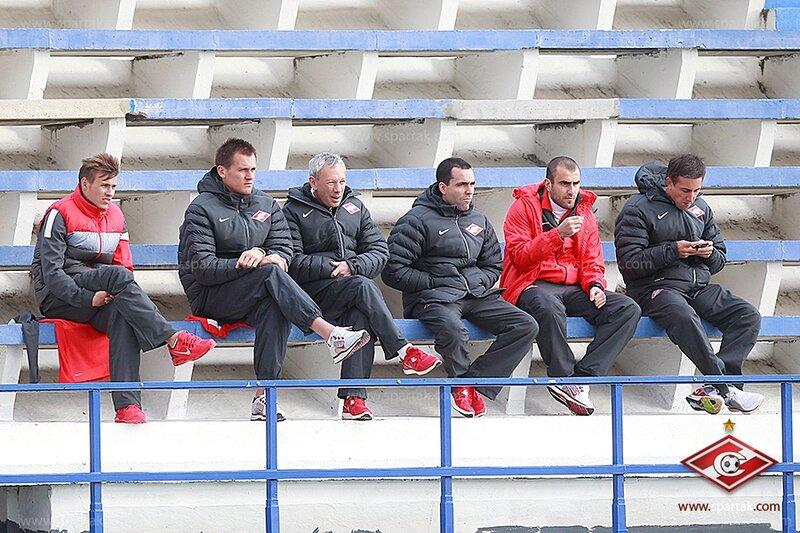 «Спартак» vs «Стремсгодсет» 3:2 контрольный матч 2013 (Фото)