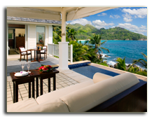Сейшелы. О. Маэ. Banyan Tree Seychelles. Pool Villa Overlooking The Indian_O
