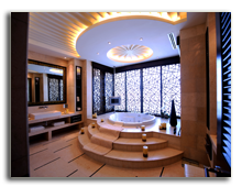 ОАЭ. Дубаи. Raffles Dubai. Earth Presidential Suite - Bathroom