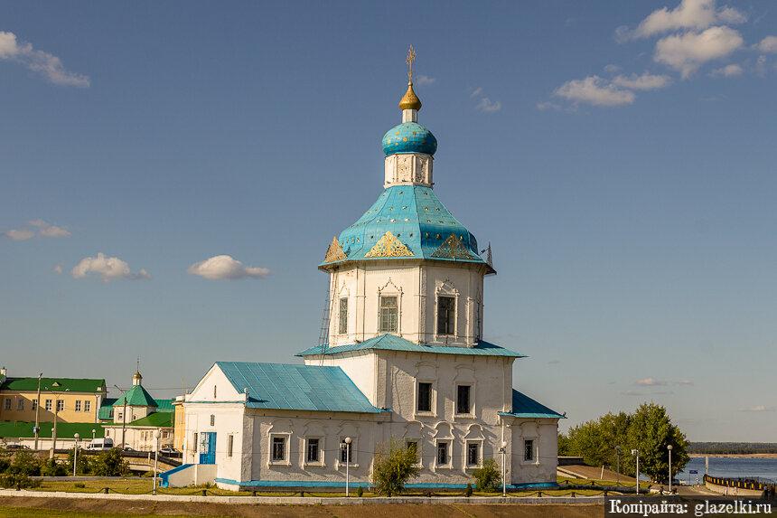 Чебоксары. Успенская церковь.