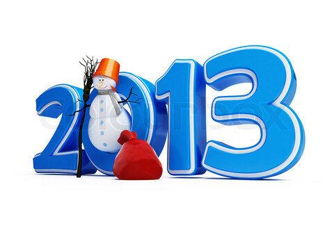snowmen new year 2013