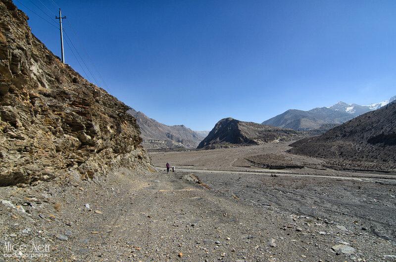 где-то между Марпой и Джомсомом, Гималаи, Непал