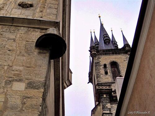 Каменный колокол, Староместская площадь, Прага, Чехия