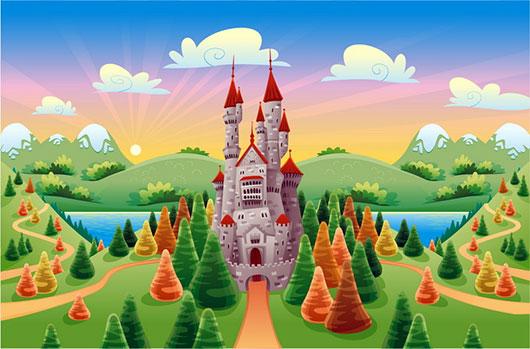 Замок волшебника Бобо. Сказка на ночь. Новый красивый замок.