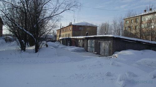 Фото города Инта №3787  Январская 13 и Чернова 8 19.02.2013_13:02