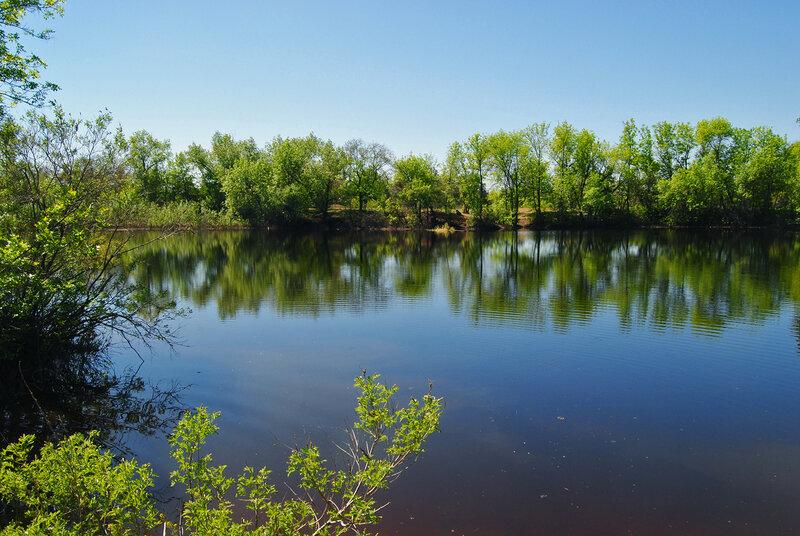 9.05.13 Безымянное озерко в разлив