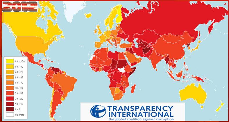 Индекс восприятия коррупции 2012