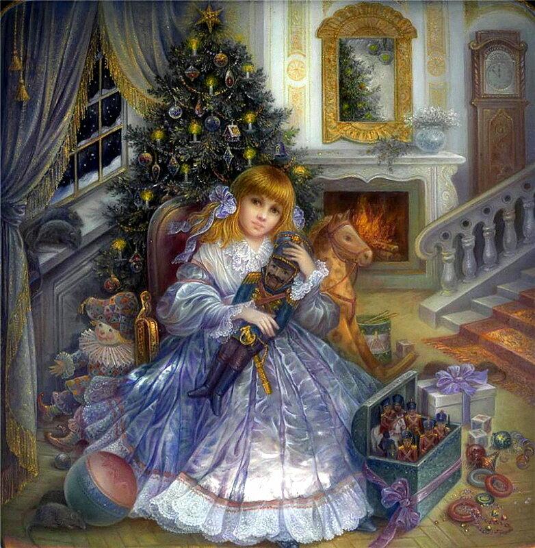 Рождественское чудо в картинах Надежды Стрелкиной