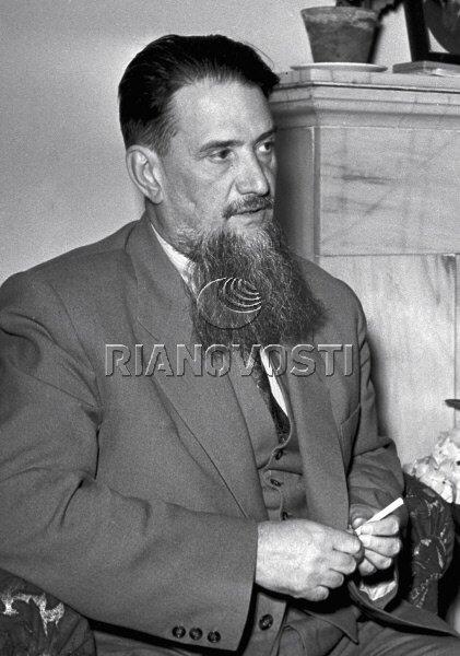 69025 16.05.1958 Академик Игорь Васильевич Курчатов. РИА Новости/РИА Новости