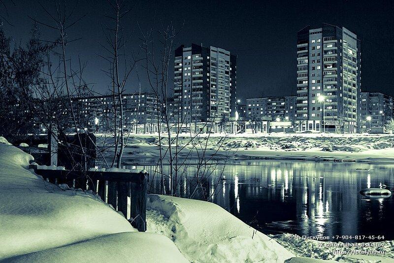 Челябинск. ул. Университетская набережная. март 2013