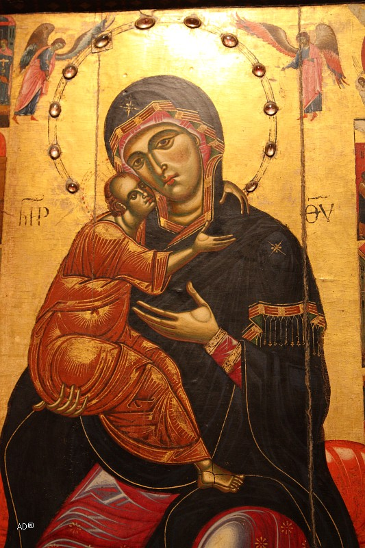 Круг Коппо ди Марковальдо. Мадонна с Младенцем на троне, 1275 г.