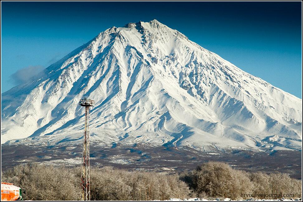 вулкан Корякская сопка. Камчатка