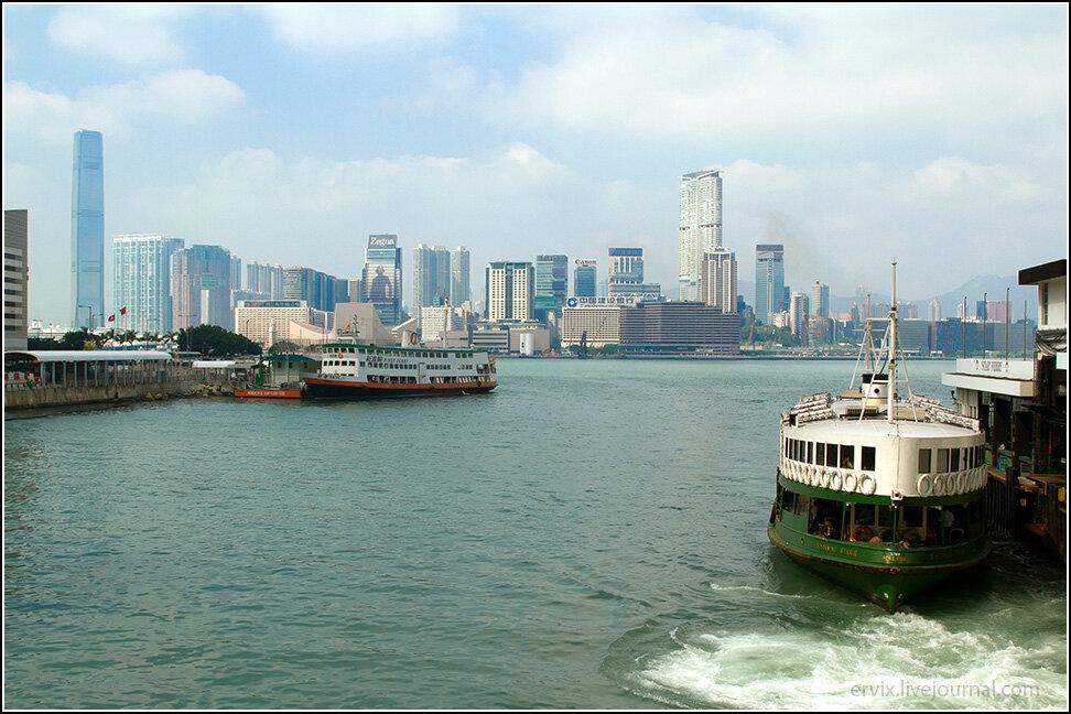 Городской паром в Гонконге
