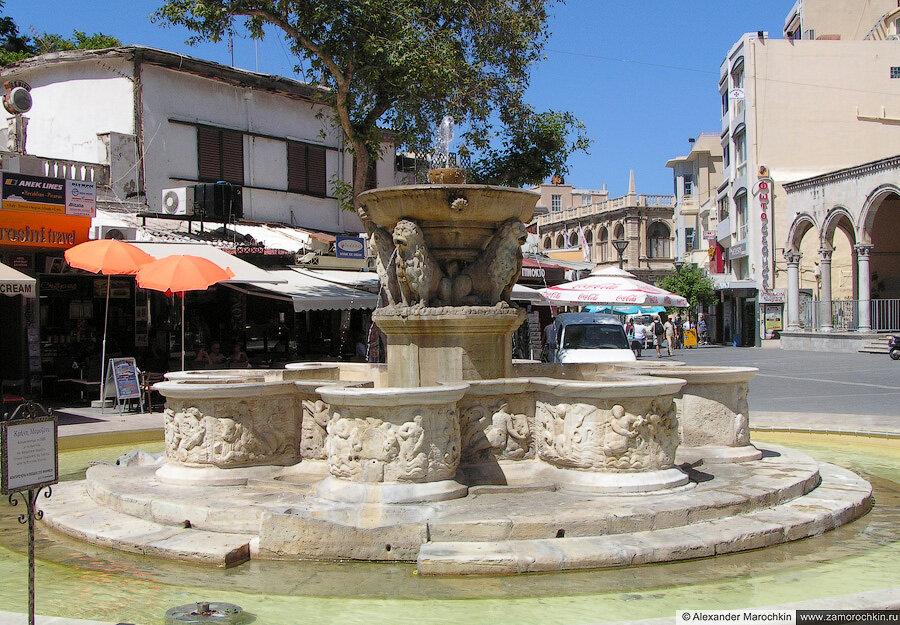 Фонтан Морозини | Morosini fountain