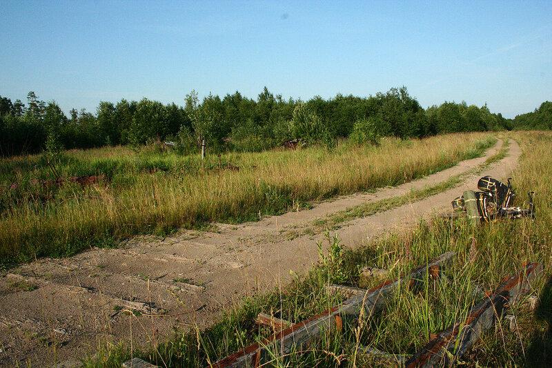 железная дорога вдоль озера Воже от Совзы