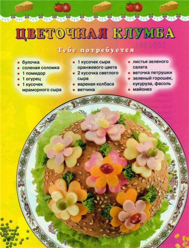 Салаты рецепты с оформление для детей