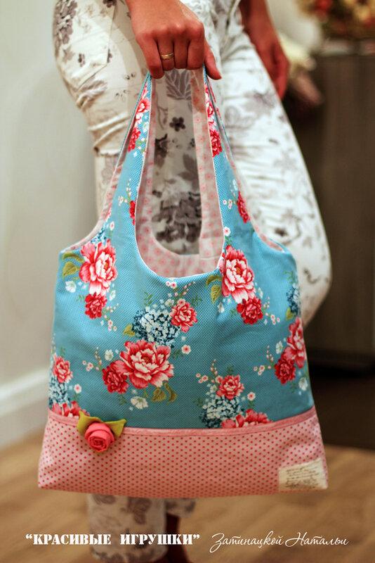 летняя сумка тильда