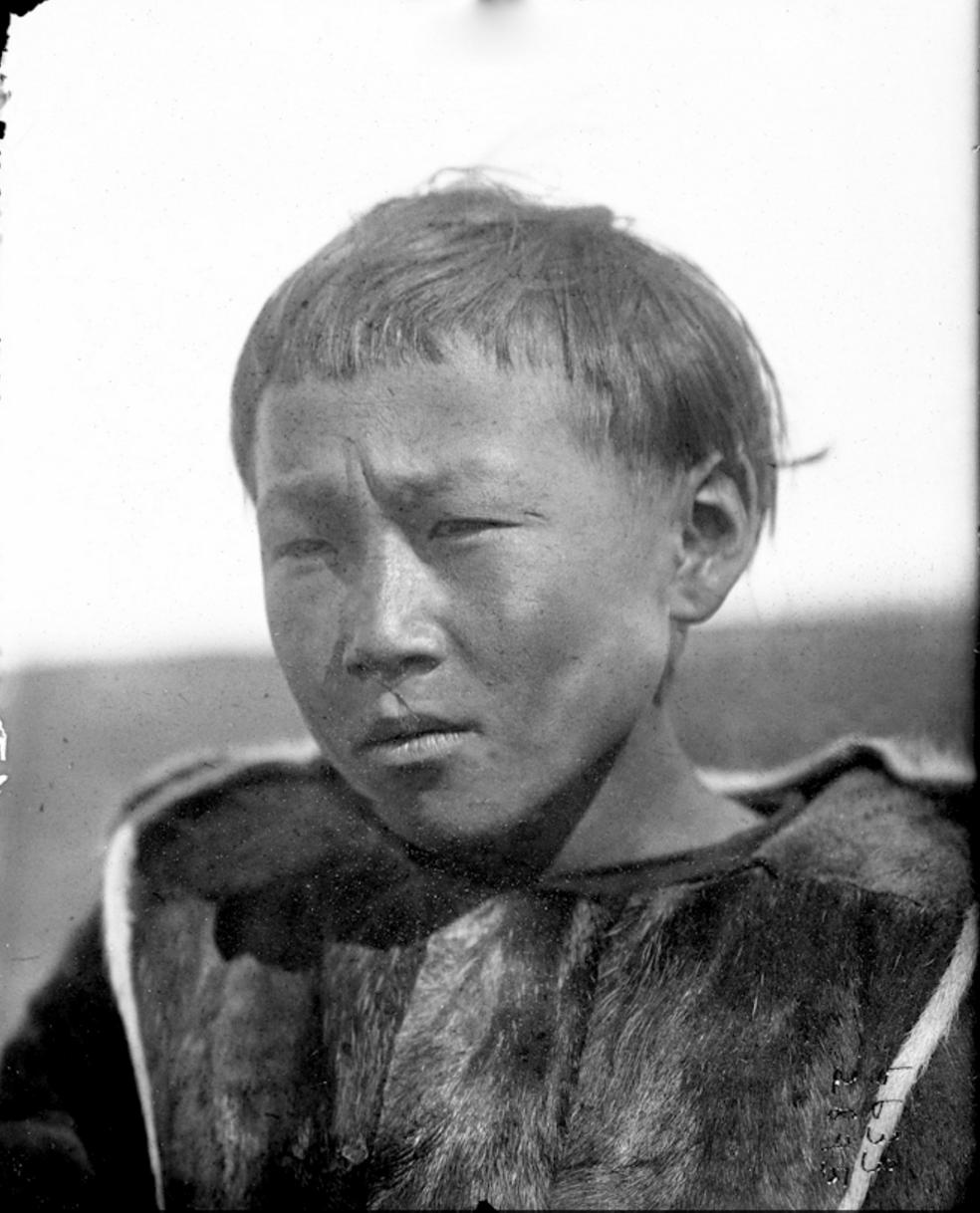 Приморский подросток коряк, Россия, 1901
