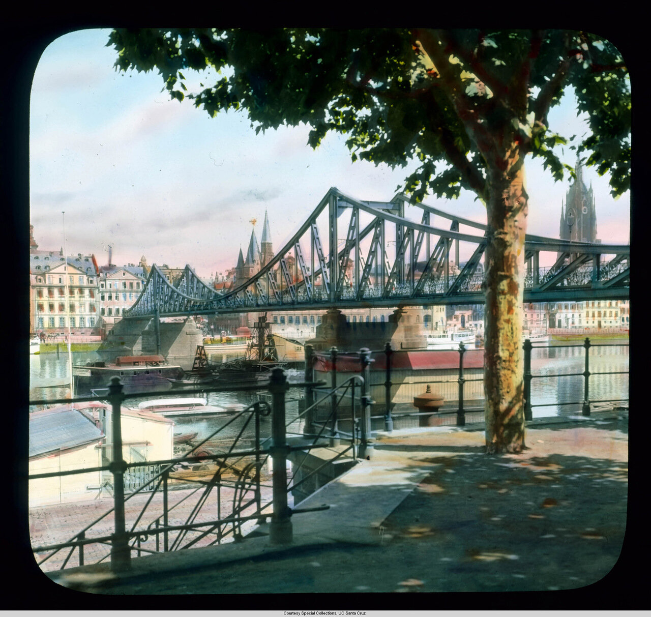 Франкфурт-на-Майне. Старый Железный мост