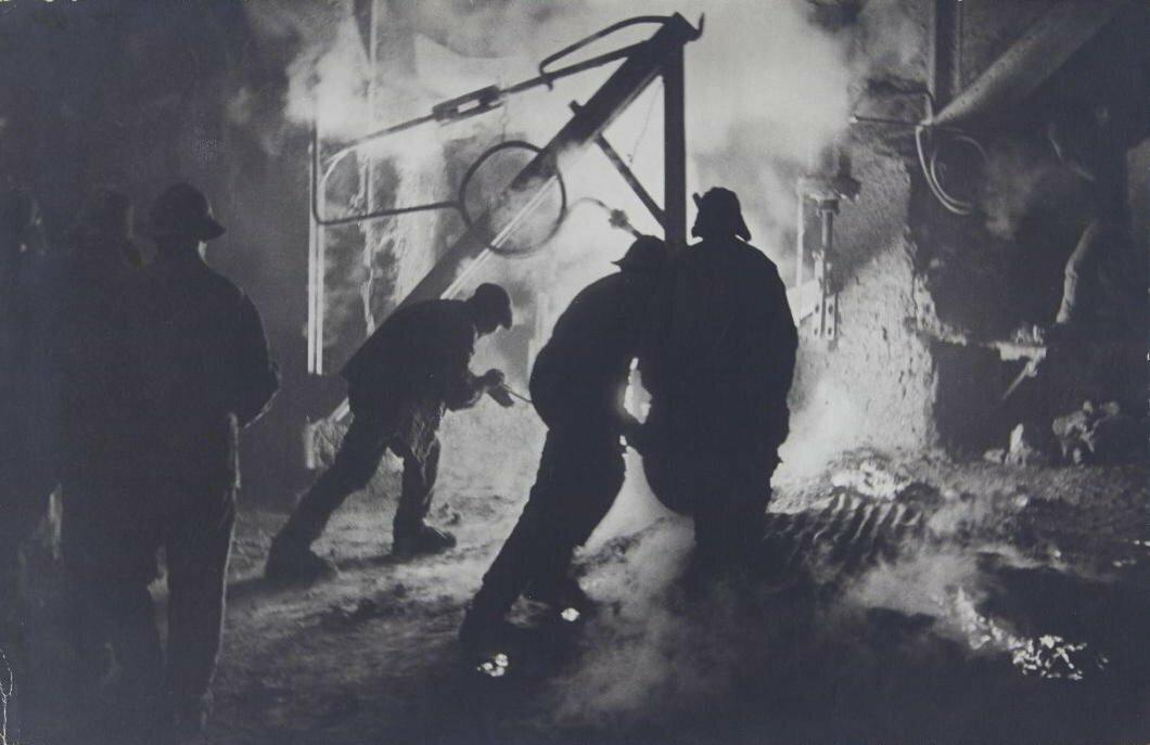 1939. Дмитрий Георгиевич Дебабов. Сталевары