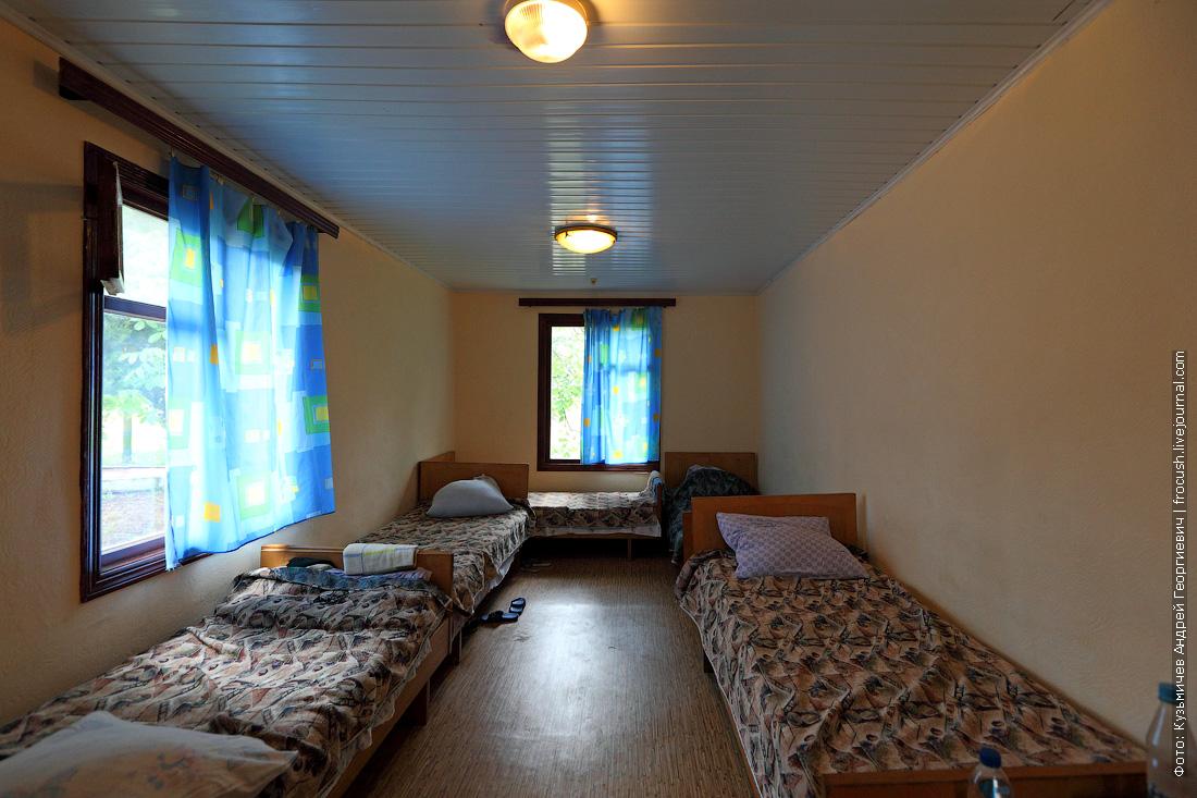 комната детский оздоровительный лагерь Нахимовец