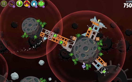 Angry Birds Space Premium + HD (Android игры)