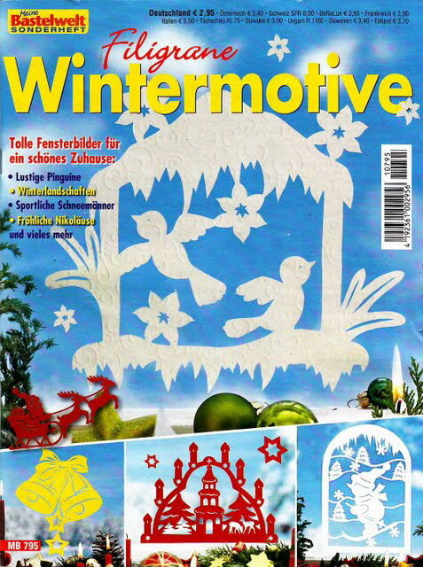 Meine Bastelwelt Sonderheft: Filigrane Wintermotive MB 795 2011