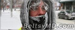 Аномальные холода вскоре вернутся в Молдову