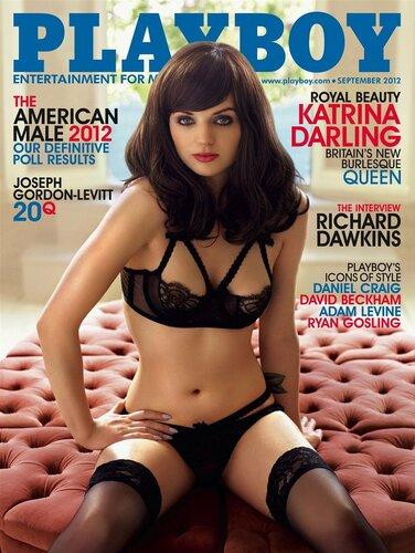 голая кузина принцессы Катрина Дарлинг (Katrina Darling) в журнале Playboy