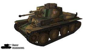 Шкурка для танка PzKpfw 38(t)