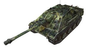WoT шкурка ПТ-САУ Jagdpanther