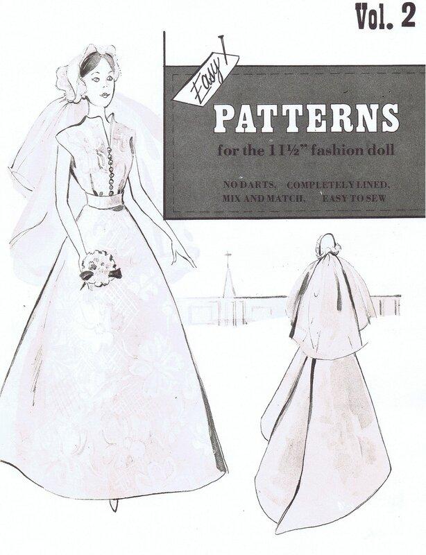 Выкройки платьев для старинных кукол