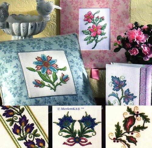 Схемы вышивки цветы 0_179715_1aa6727a_L