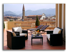 Италия. Флоренция. The Westin Excelsior, Florence. Junior Suite Terrace