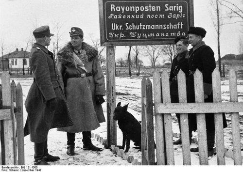 Ukraine, Ordnungspolizei, Rayonposten Sarig