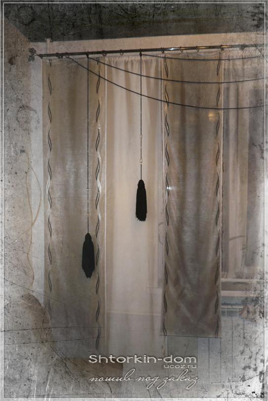 пошив штор и ламбрекенов любой сложности от швейной мастерской Shtorkin-Dom в Славянске.